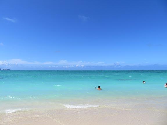 全米No1ビーチにもなったラニカイビーチ