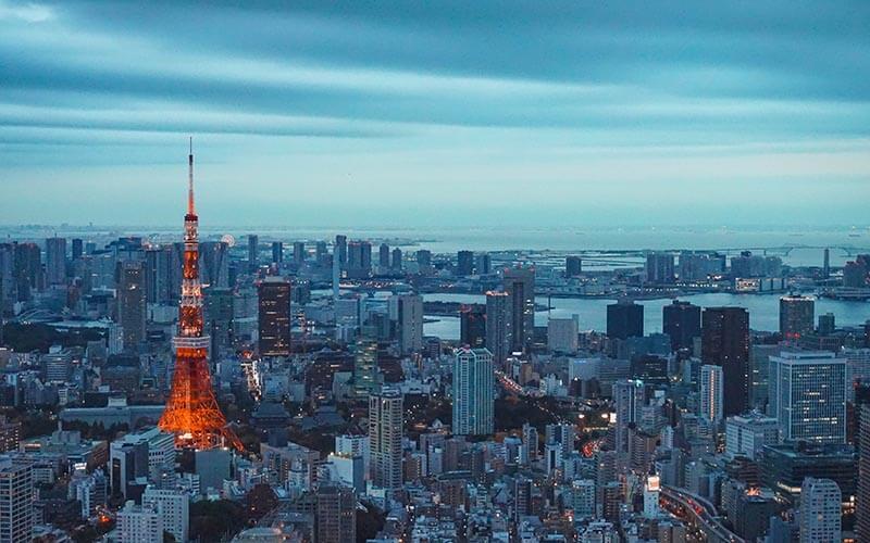 大都市東京